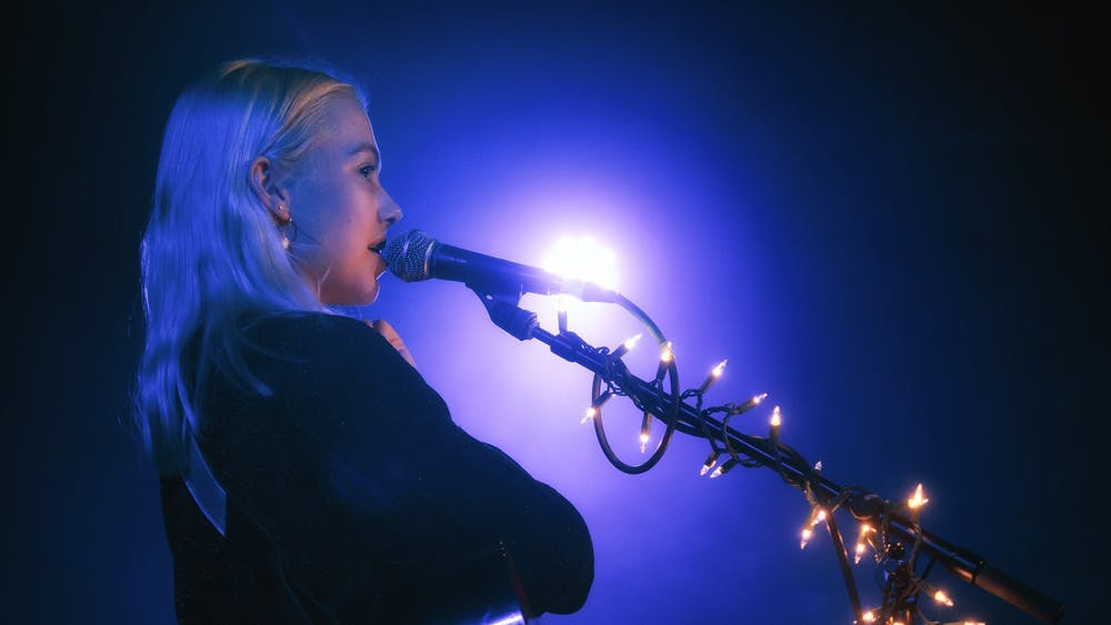 """A talented lyricist and indie favorite, Phoebe Bridgers worked with Rob Moose to rework four songs off her 2020 album """"Punisher"""" on her new EP, """"Copycat Killer."""""""