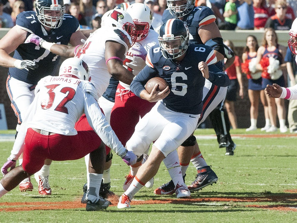 <p>Virginia blew a 20-17 fourth quarter lead after two costly late&nbsp;interceptions by junior quarterback Kurt Benkert.</p>