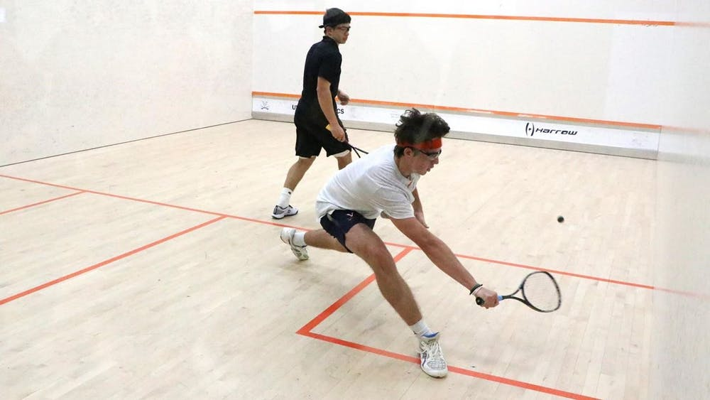 Virginia men's squash gave Western Ontario its first loss of the season Sunday.