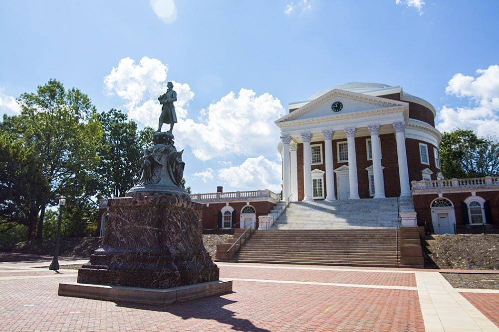 Jefferson exploited enslaved laborers by using them to build and maintain the University.