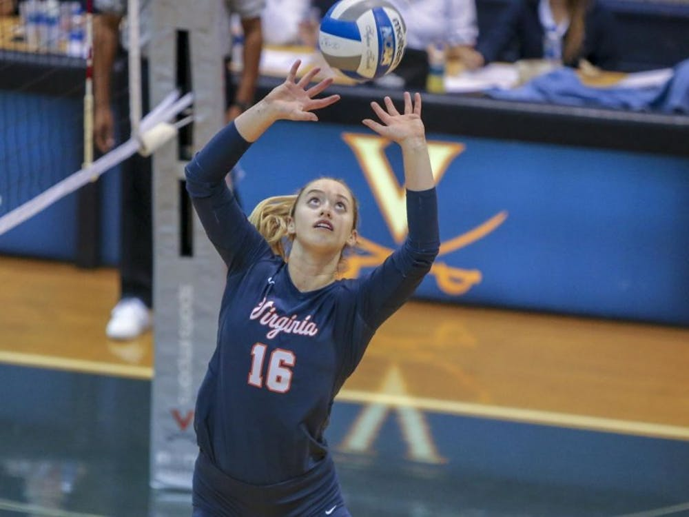 Senior setter Jennifer Wineholt finished with 12 assists and 10 digs against Loyola.