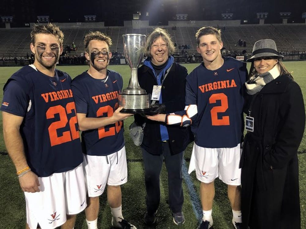 The Cavaliers have reclaimed the Doyle Smith Cup, a spoil that has been awarded to the regular season winner of the Virginia-Johns Hopkins series since 2006.