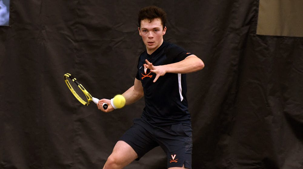 <p>Freshman Inaki Montes de la Torre had an outstanding performance against No. 3 Ohio State, downing the No. 25 singles player in the nation, graduate student Kyle Seelig.&nbsp;</p>