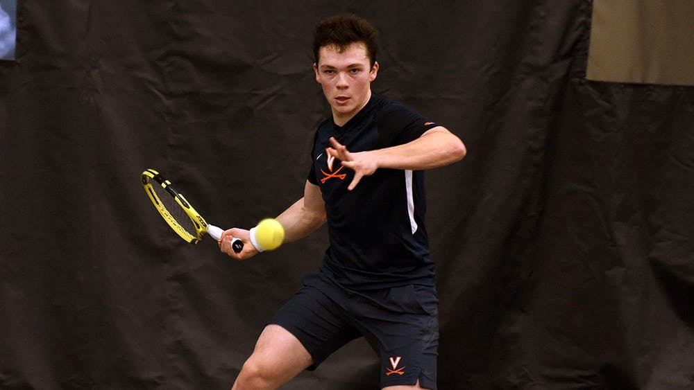 Freshman Inaki Montes de la Torre had an outstanding performance against No. 3 Ohio State, downing the No. 25 singles player in the nation, graduate student Kyle Seelig.