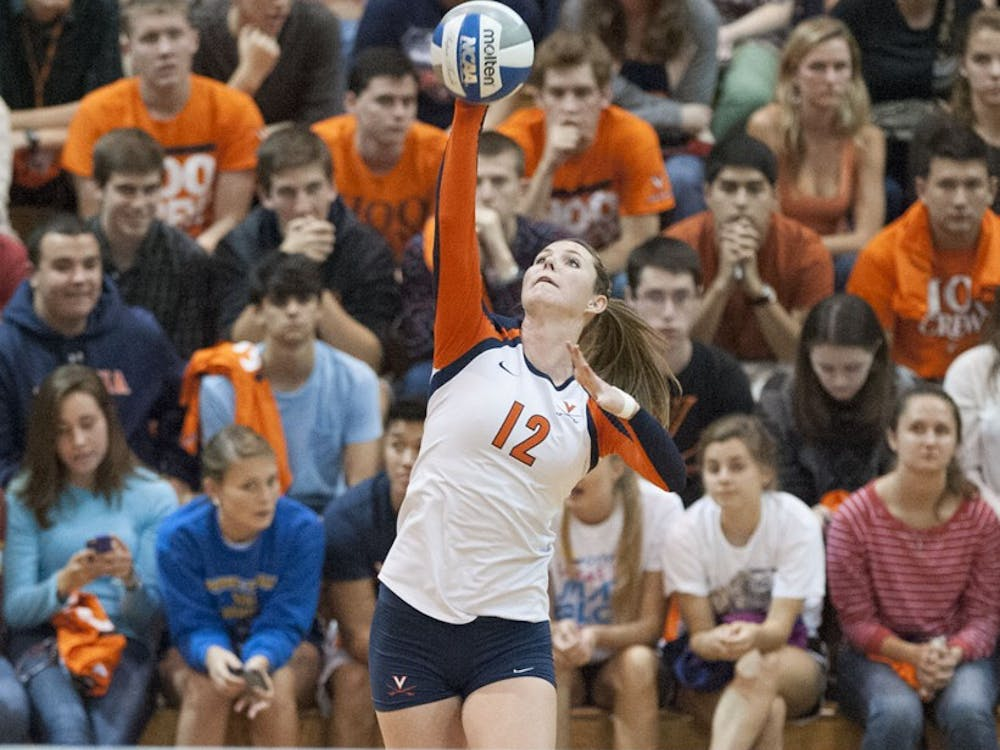 The Virginia volleyball team is 6-0 to start a season for the first time since 2003, and junior middle hitter Natalie Bausback, the tournament MVP of both the Cavalier Classic and the Marshall Thunder Invitational, is a big reason why.