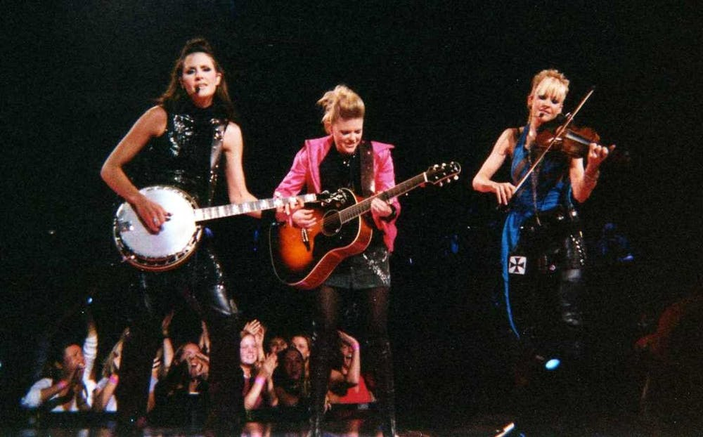 <p>The Chicks have had a tumultuous career following lead singer Natalie Maines' 2003 comment critiquing President Bush.</p>