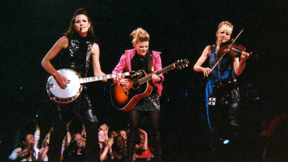 The Chicks have had a tumultuous career following lead singer Natalie Maines' 2003 comment critiquing President Bush.