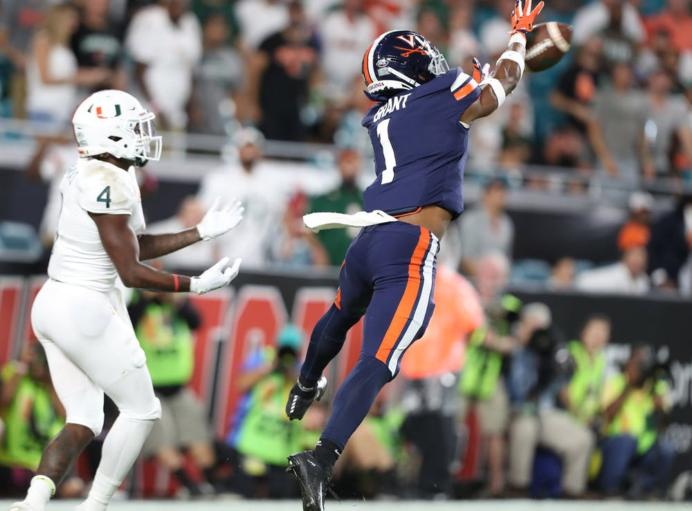 <p>Senior cornerback Nick Grant will be called upon all night to stop a dynamic Miami passing attack headed by senior quarterback D'Eriq King.&nbsp;</p>
