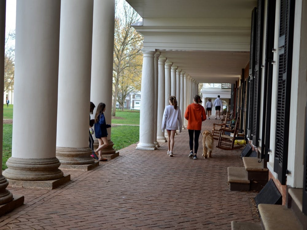 20 of the University's 27 first-year dormitories and all Lawn residents have undergone testing.