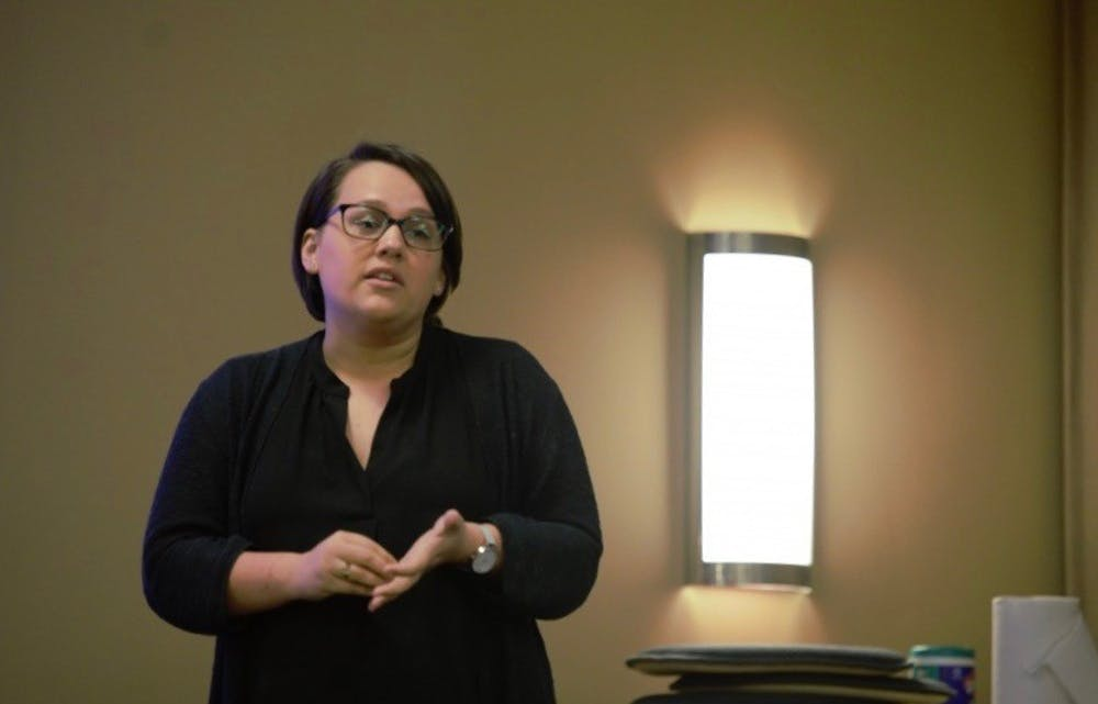 """<p>""""Even if they know it is coming, even the process itself can be really stressful,"""" Case Manager Shelby Gibson said. """"The experience of a lot of students that I've worked with, they are highly stressed out when it comes the UJC process, they don't know what's going to happen.""""</p>"""