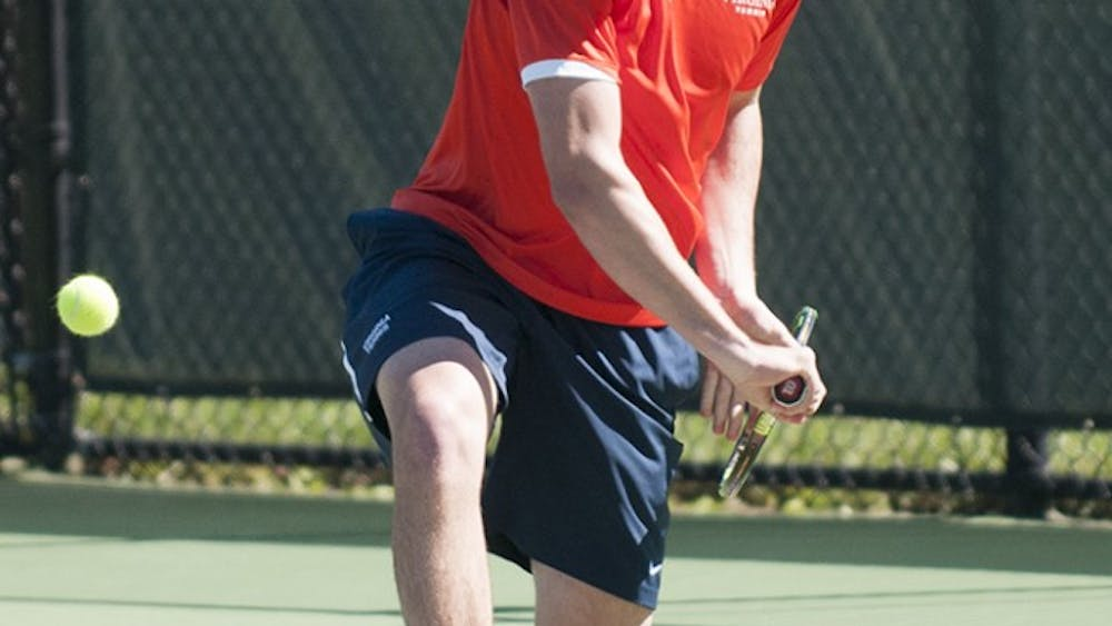 Senior Ryan Shane enters the outdoor season ranked second in the nation and looks to defend his singles title.
