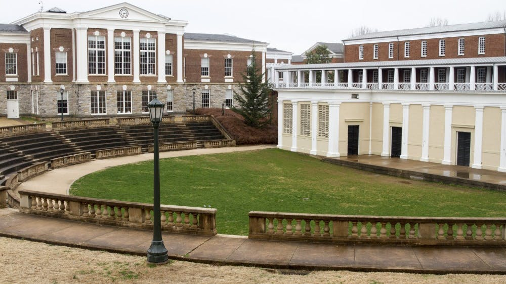 """The McIntire Amphitheater is among a number of """"designated locations"""" at the University which unaffiliated groups would be restricted to holding events at."""