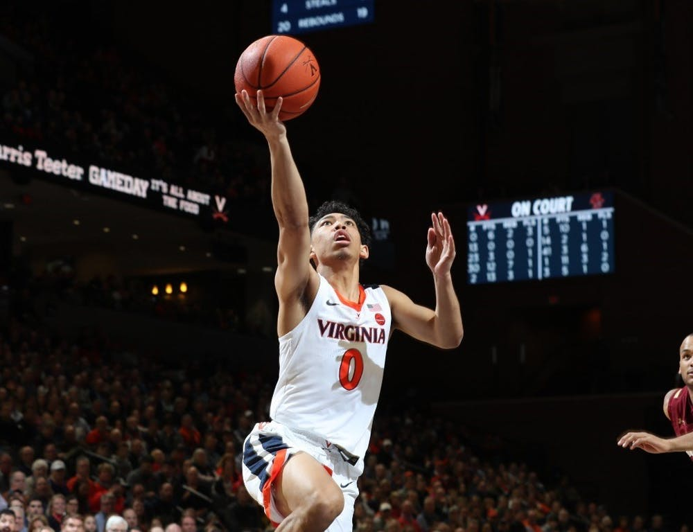 <p>Sophomore guard Kihei Clark found his groove Saturday, scoring 17 points while picking up five rebounds and adding three assists.</p>