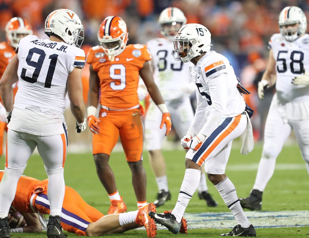 <p>Virginia will look to avenge a 45-point blowout loss to Clemson in last year's ACC Championship game.&nbsp;</p>