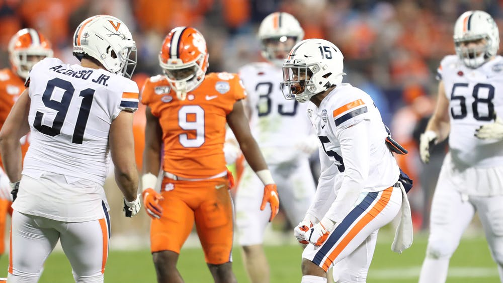 Virginia will look to avenge a 45-point blowout loss to Clemson in last year's ACC Championship game.