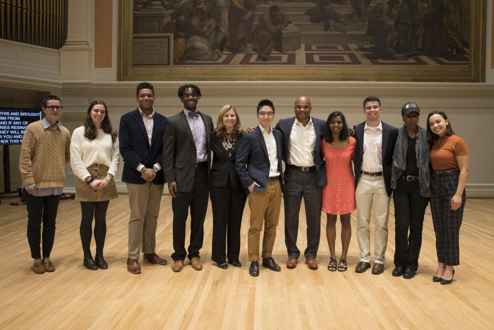 <p>The University's second Double Take event featured 10 storytellers from staff, faculty and the student body.</p>