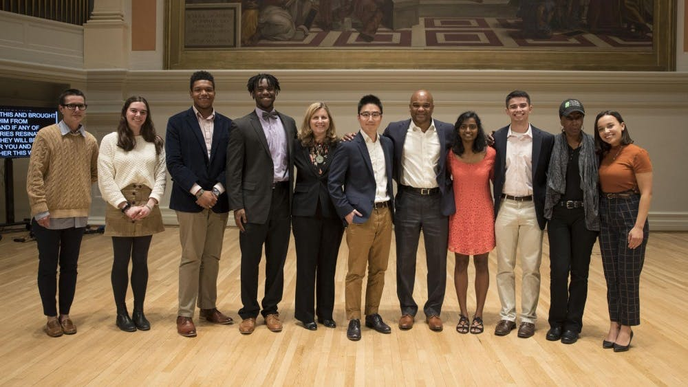 The University's second Double Take event featured 10 storytellers from staff, faculty and the student body.