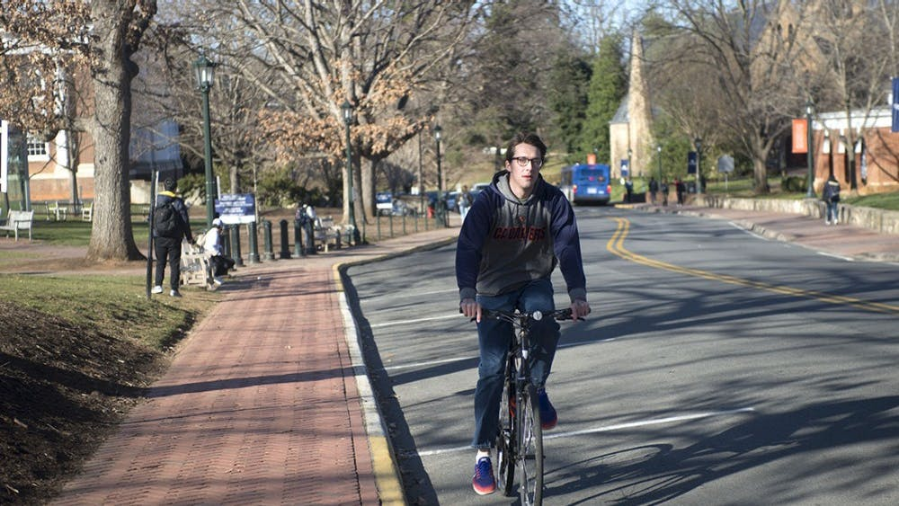Many areas on and around Grounds lack adequate bike lanes.