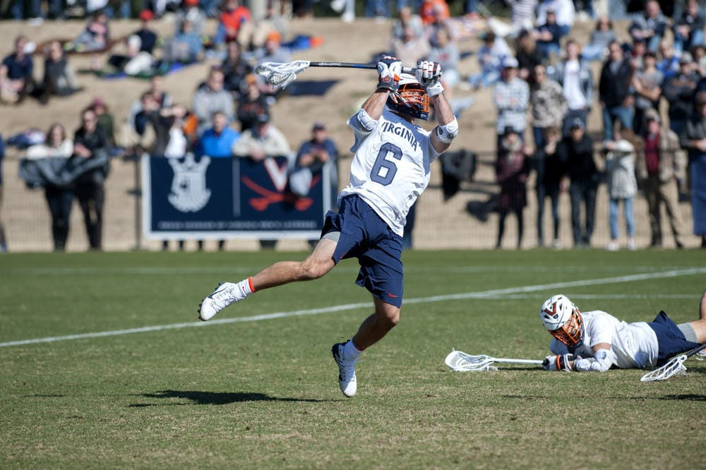 <p>Men's lacrosse All-American senior midfielder Dox Aitken is one of the student-athletes uniquely affected by eligibility relief, as he recently committed to play football at Villanova in the fall.&nbsp;</p>