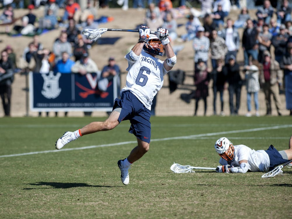 Men's lacrosse All-American senior midfielder Dox Aitken is one of the student-athletes uniquely affected by eligibility relief, as he recently committed to play football at Villanova in the fall.