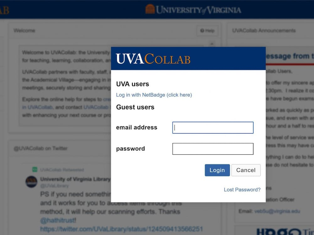 UVACollab suffered a total outage between 1:00 pm and 2:30pm
