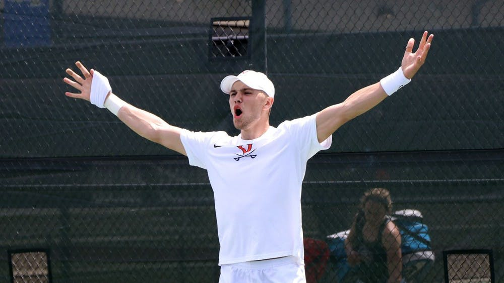 No. 5 men's tennis reaches ACC finals, falls to Wake Forest 4-2
