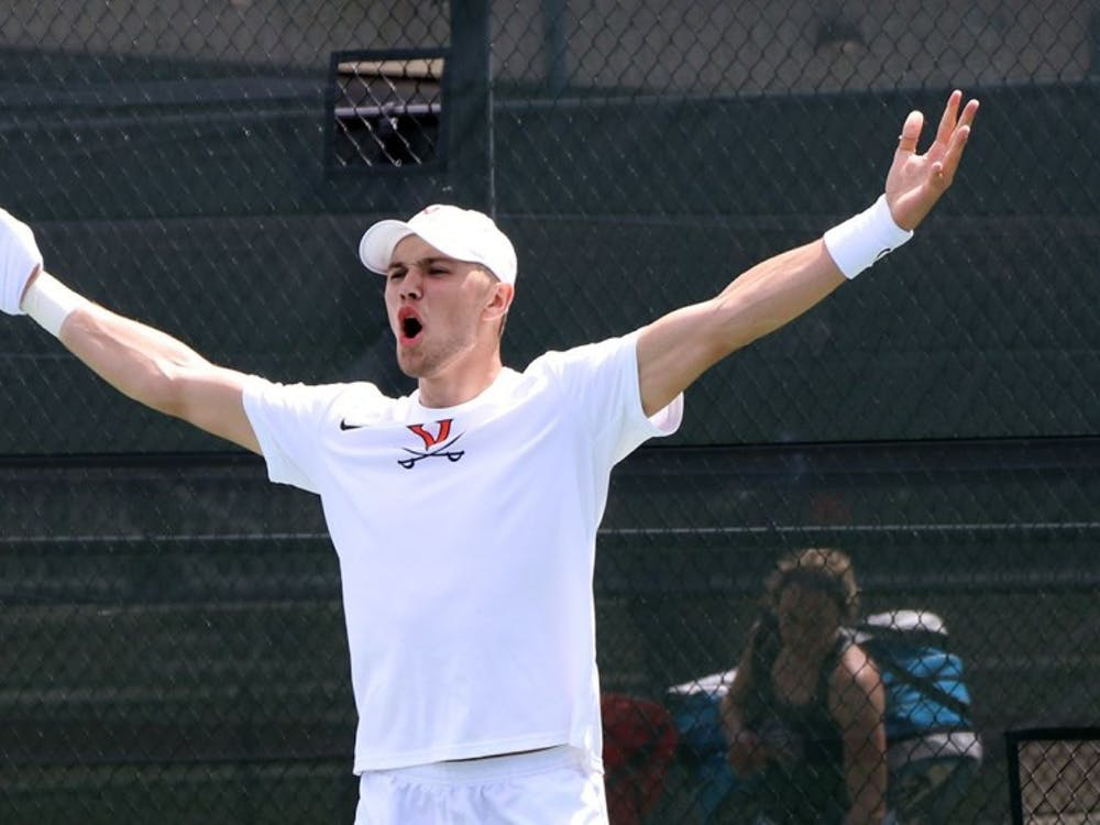 Junior Carl Soderlund's singles victory sealed No. 5 Virginia's defeat of No. 9 North Carolina in the ACC Tournament semifinals.