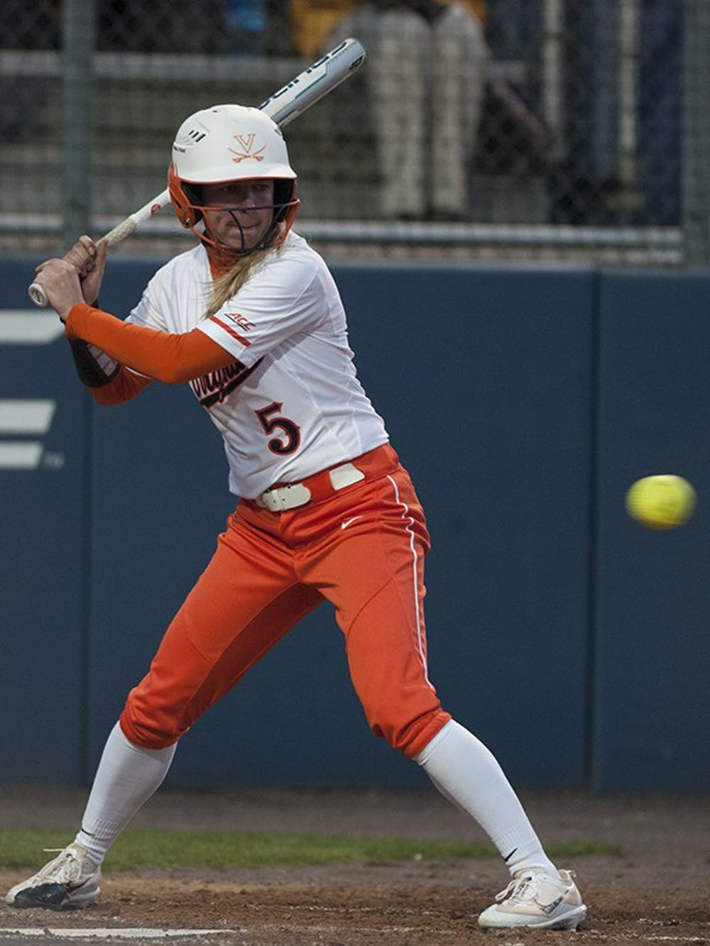 <p>Junior left fielder Allison Davis led the Cavaliers in hitting,&nbsp;going three-for-four on the evening.</p>