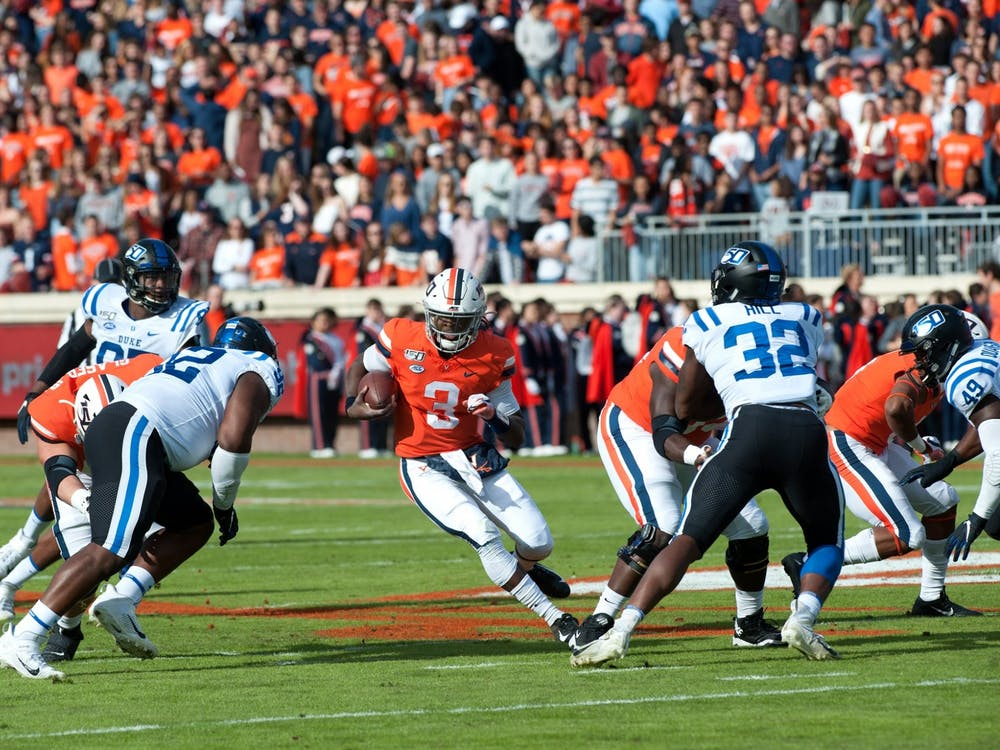 Last year, the Cavaliers defeated Duke in a 48-14 blowout victory, holding the Blue Devils to just 250 yards of total offense and extending their winning streak against Duke to five games.