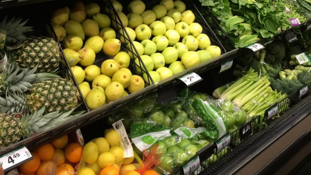 The quality and freshness of produce is an especially important component in rating how good a grocery store is.