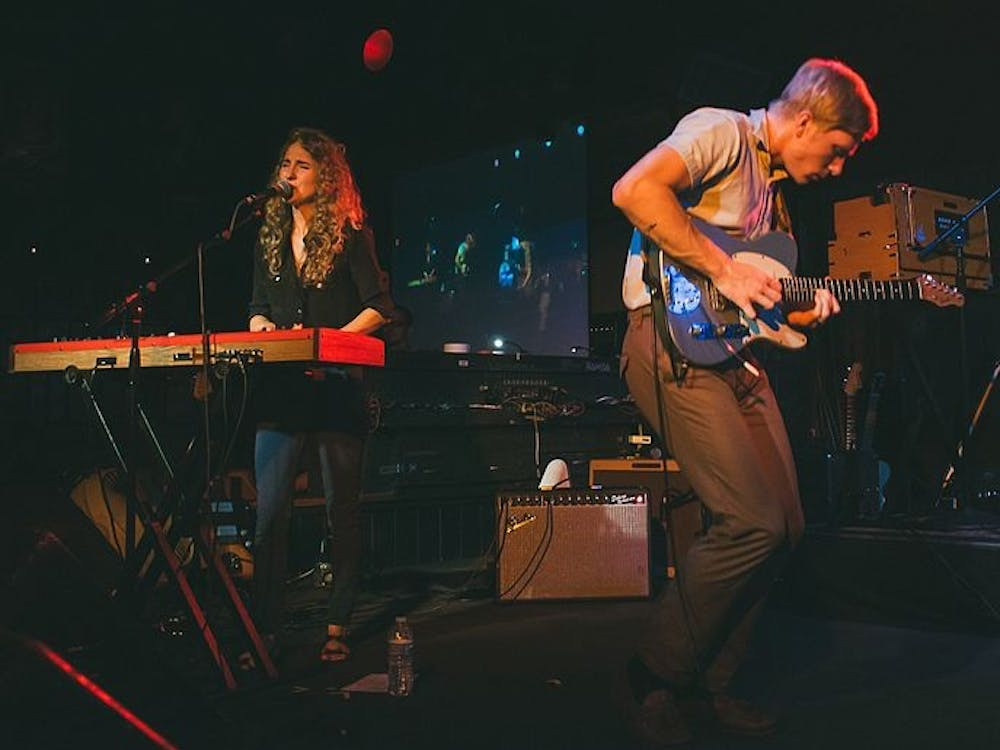 Husband-and-wife-duo Patrick Riley and Alaina Moore have created a successful formula of glimmering indie pop, 20th-century-inspired outfits and lyrics addressing concepts of love and womanhood.
