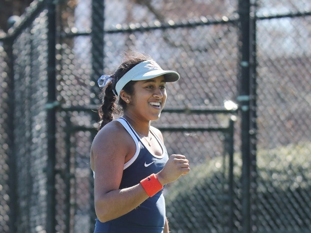 Freshman Natasha Subhash prevailed in her doubles match before toppling her Clemson opponent in straight-sets in her singles match.