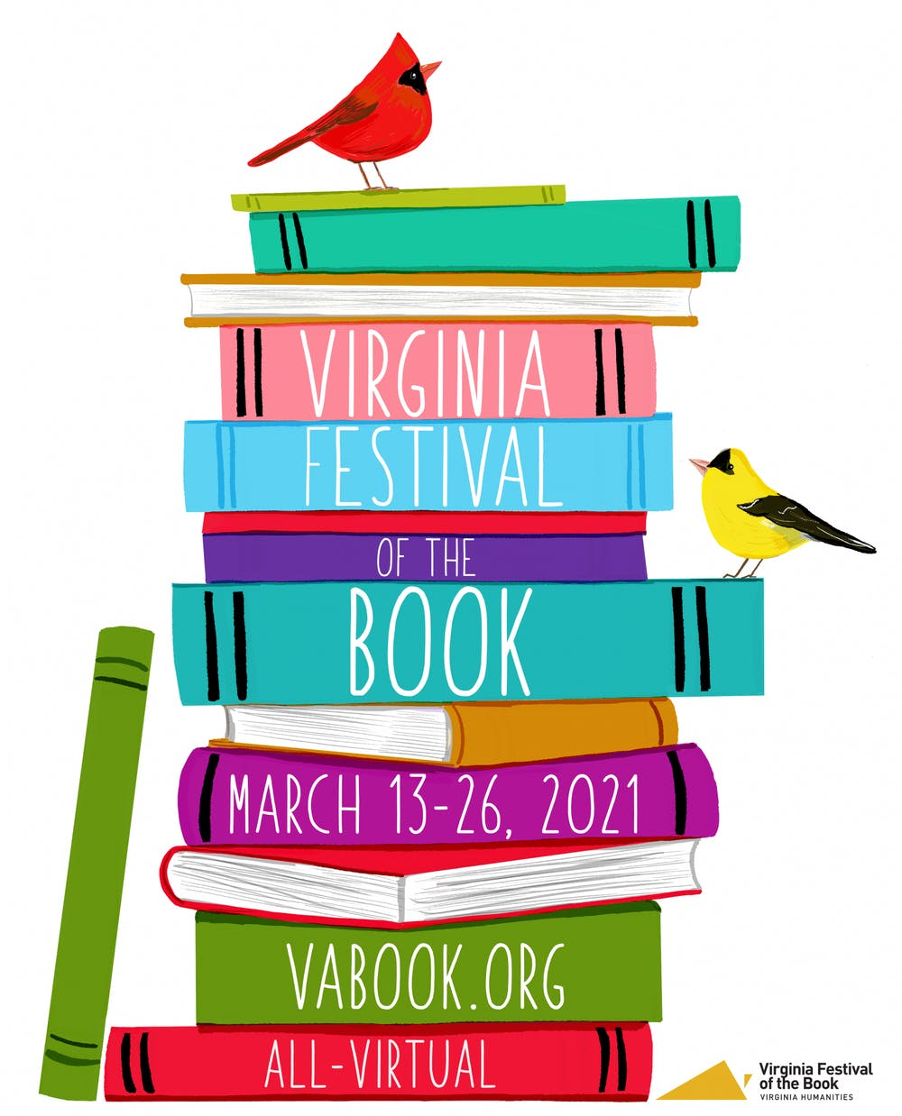 <p>The All-Virtual Virginia Festival of the Book offers a wide variety of conversations with authors from March 13 to March 26.</p>