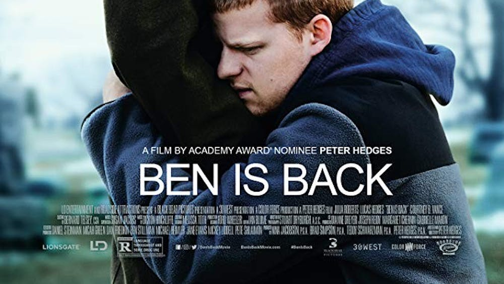 """""""Ben is Back"""" is darkly and subtly funny, as well as consistently and forcefully uncomfortable."""