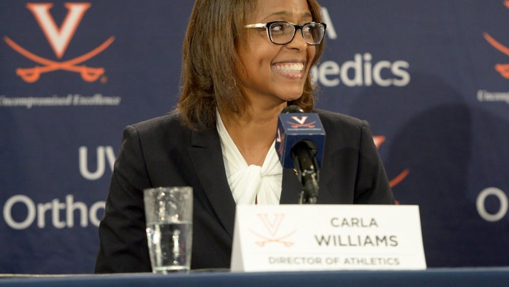 Carla Williams was introduced as Virginia's next athletic director in late October of this year.