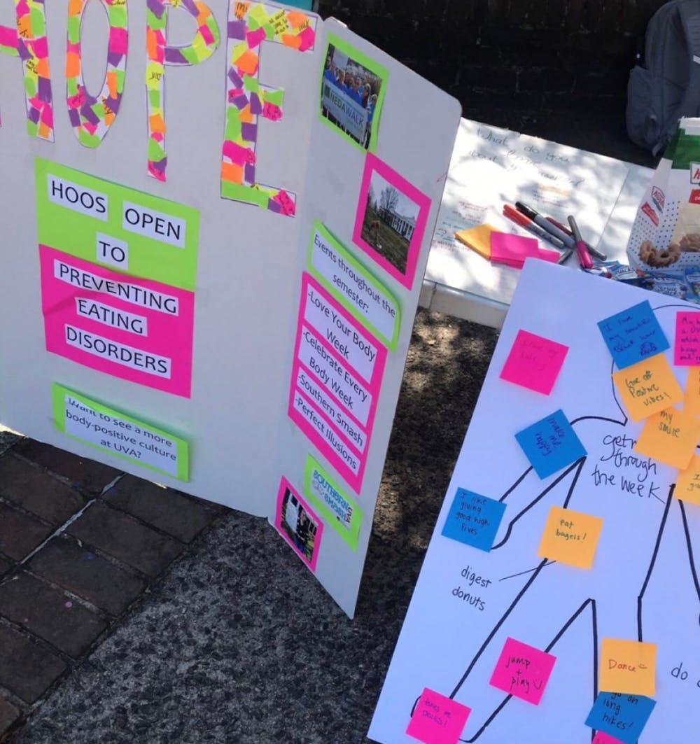 <p>&nbsp;The University's annual Love Your Body Week was held last Monday through Friday.&nbsp;</p>