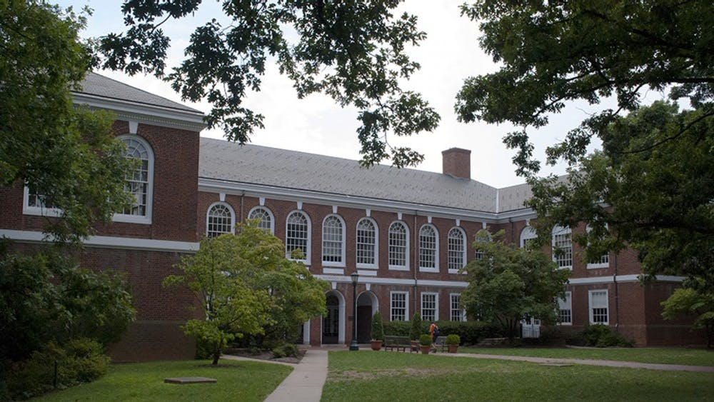 Thornton Hall is home to the Engineering School.