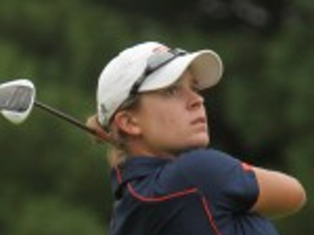 Senior Lauren Coughlin, one of four Cavaliers to place in the top-10 at the Bryan National Collegiate, will lead the Virginia women's golf team into the ACC Championships this weekend.