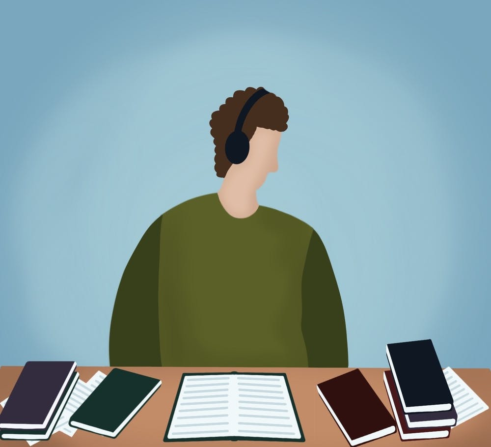 <p>Finals season can already be a stressful time, but add in a global pandemic and online school and it becomes even more stressful.</p>