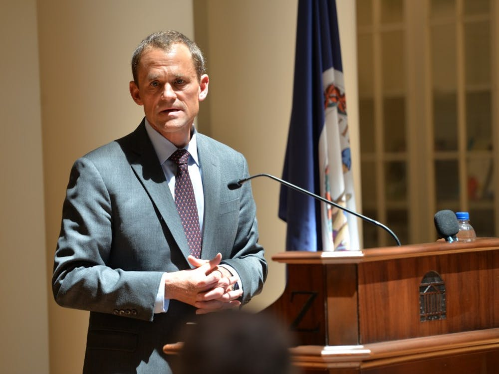 Jim Ryan's formal presidential inauguration ceremony will be held Oct. 19.
