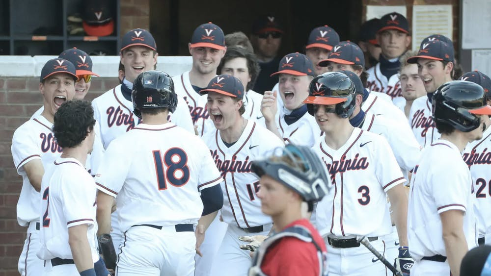 During this five-game stretch, Virginia scored a total of 38 runs.
