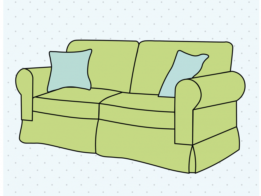 Newcomb Hall has comfortable seating on almost every floor, including armchairs and couches.