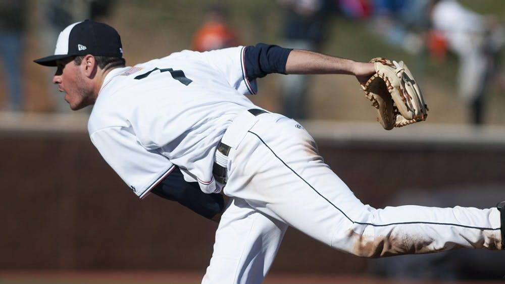 Junior outfielder Adam Haseleywent 4-4 with 5 RBIs in game one of the seriesen routeto helping Virginia sweep Rutgers.