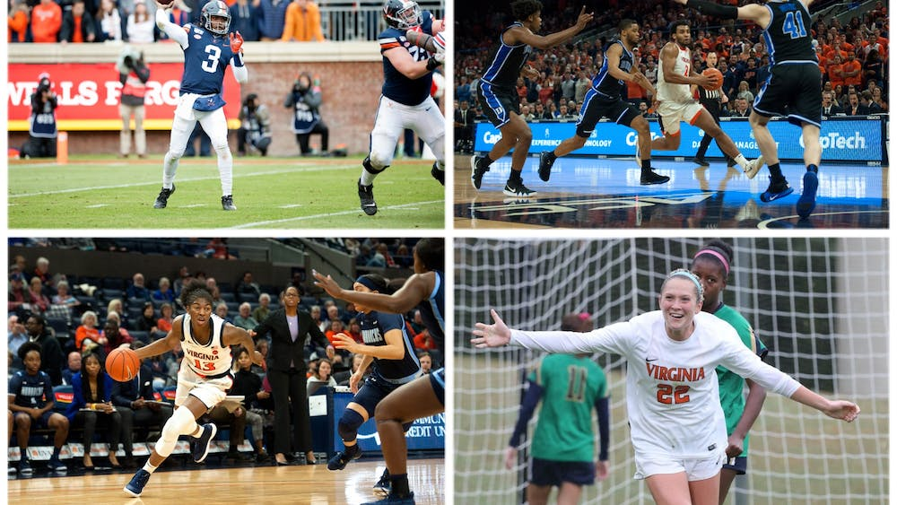 Bryce Perkins (top left), Braxton Key (top right), Jocelyn Willoughby (bottom left) and Meghan McCool (bottom right) have left a lasting mark on the University.