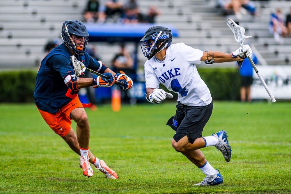 <p>Duke used a 7-2 run in the second half to snap Virginia's eight-game winning streak.</p>