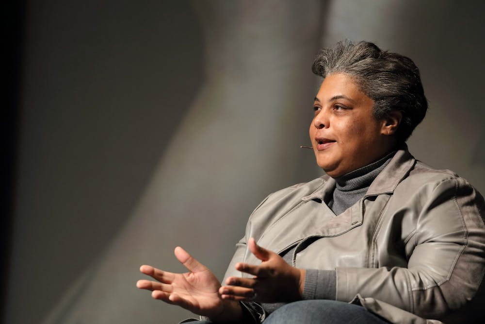 <p>Writer, academic and activist Roxane Gay delivered the keynote address for the 2020 Community MLK Celebration at the Paramount Theater Jan. 23.&nbsp;</p>