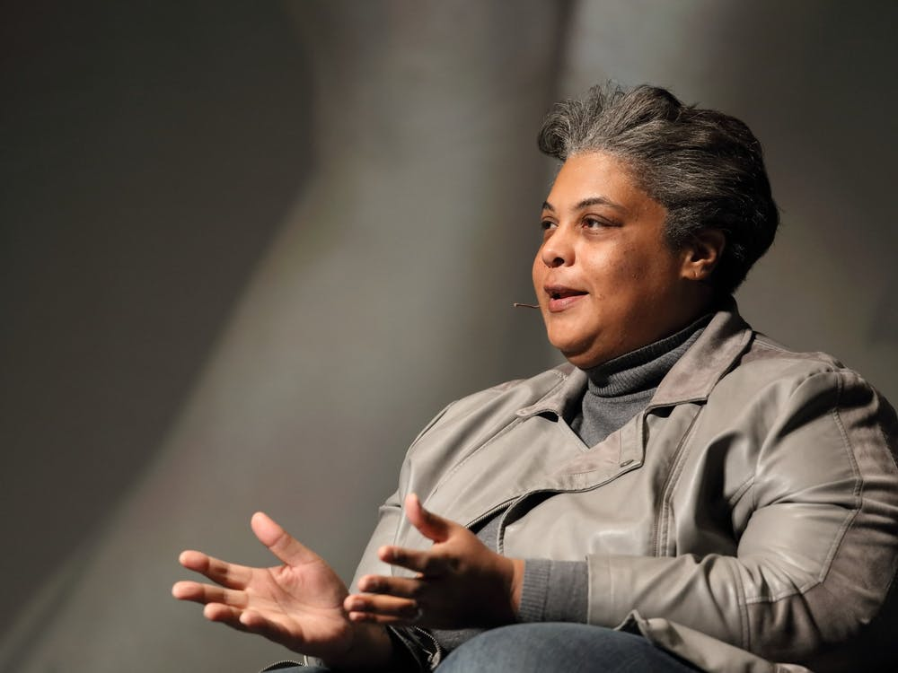 Writer, academic and activist Roxane Gay delivered the keynote address for the 2020 Community MLK Celebration at the Paramount Theater Jan. 23.