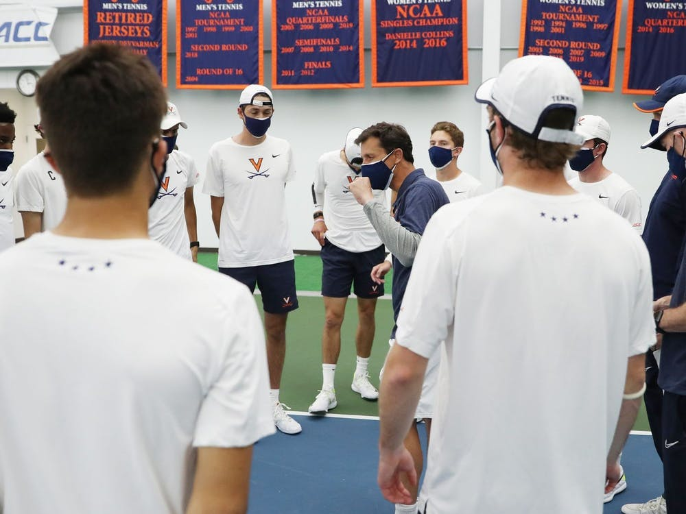 The Virginia men's tennis team cruised through conference play this season, going undefeated and winning the regular-season title.