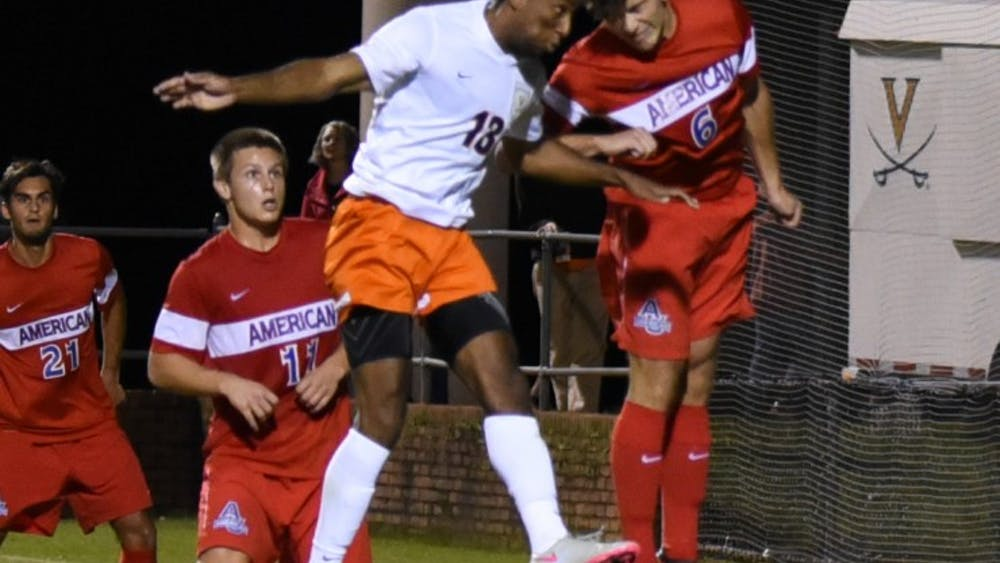 Junior Marcus Salandy-Defour's headed effort sailed wide. Coming in the 86th minute it was Virginia's last legitimate scoring chance