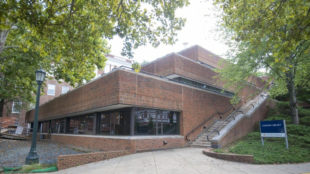 The first floor of Clemons Library is expected to re-open May 2019.